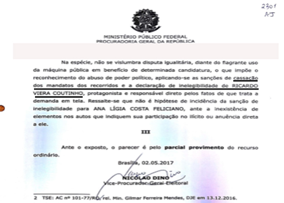 AIJE FISCAL parecer do MPE-DF ultima página