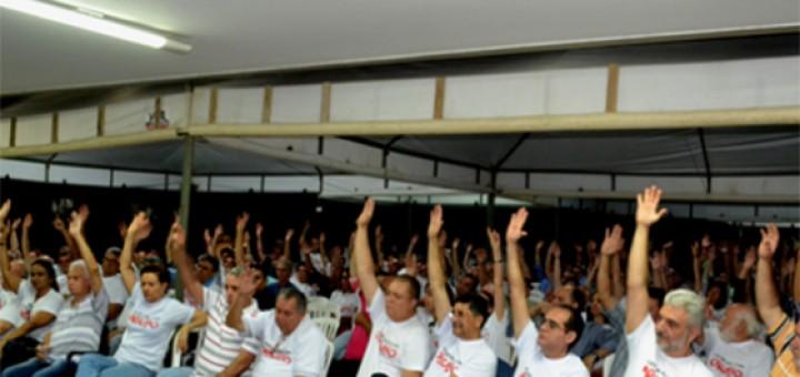 Auditores fiscais suspendem greve 11abr2018