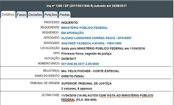 Caso Bruno Ernesto Inq 1200 em 12abr2018