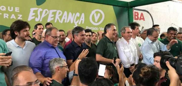Luciano toma posse no PV
