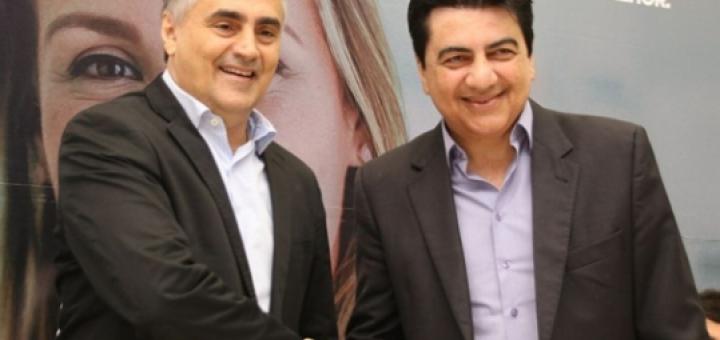 Manuel Júnior e Luciano Cartaxo