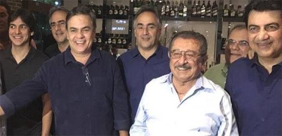 Maranhão com Cássio, Luciano, Manuel Jr 28dez2016