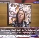Senadora Gleici Hoffmann na TV Al Jazeera