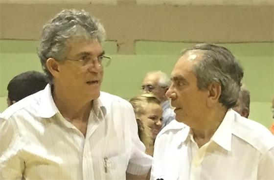Ricardo Coutinho e Raimundo Lira