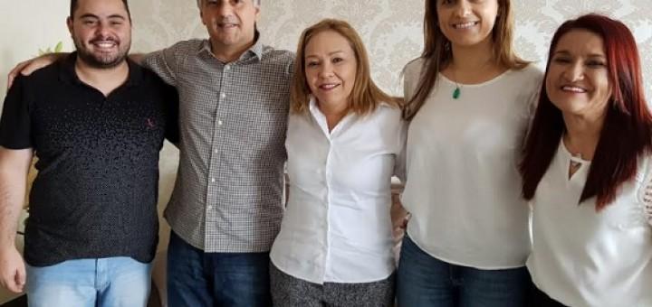Lucélio com Eva Gouveia