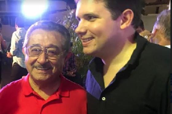 Maranhão com Hugo Motta no São João de Patos