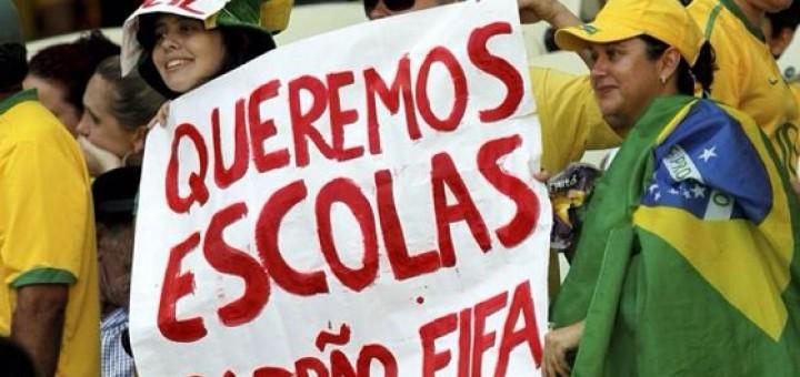 Queremos escola padrão Fifa