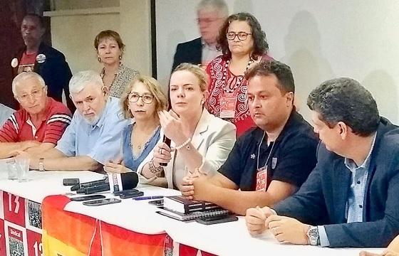 Gleisi na Paraíba 12jun2018