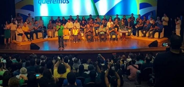 Lucélio em encontro do PSDB em CC 14jul2018